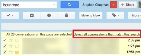 How to mark all unread emails as read in Gmail and more | ZDNet | Learning Tech, 121, TEL | Scoop.it