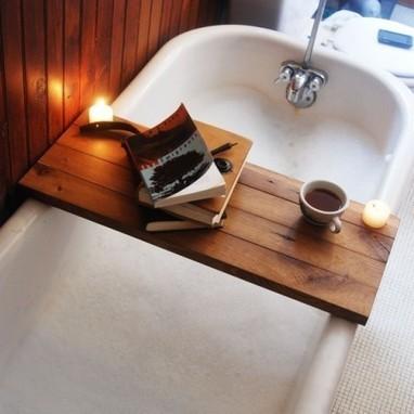 DIY Bathtub Shelf | e-Expeditions | e-Expeditions News | Scoop.it
