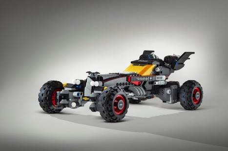 Chevrolet y Warners Bros se asocian para construir un Batimóvil con LEGO y lo presentan en NAIAS 2017 - Geek's Room | Bits on | Scoop.it