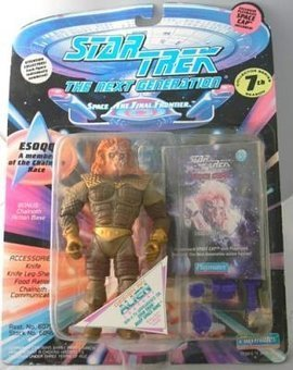 Star Trek ESOQQ the Next Generation Action Figu