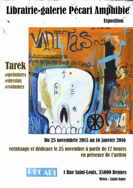 Exposition à la librairie-galerie Pécari Amphibie à Rennes | Les créations de Tarek | Scoop.it