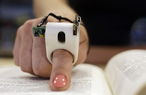 FingerReader: MIT finger device reads to the blind in real time | THE FUTURE AS SEEN BY MICHIO KAKU | Scoop.it