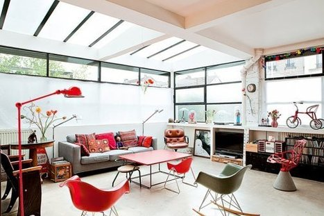 Un loft familial près de Paris | | PLANETE DECO a homes worldPLANETE DECO a homes world | Aménagement et décoration | Scoop.it