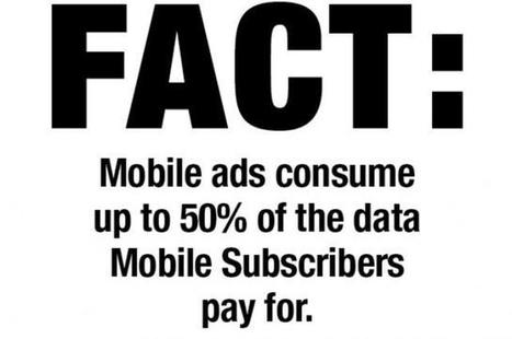 Phone Carriers Asked to Block Ads From Consumers' Data Charges | Mobile Development News! | Scoop.it