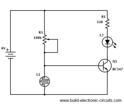 LDR Circuit Diagram - Build Electronic Circuits...