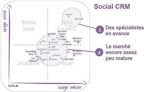 Quel réseau social d'entreprise pour quels usages ? | transition digitale : RSE, community manager, collaboration | Scoop.it