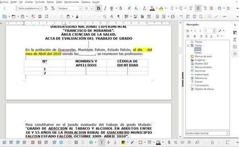 LibreOffice: 11 trucos para aprovechar la edición de documentos al máximo | FOTOTECA INFANTIL | Scoop.it