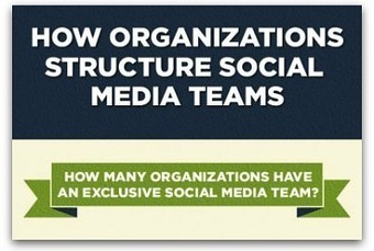 Infographic: An inside look at companies' social media teams | Social Media Research and Analytics | Scoop.it