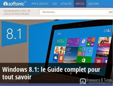Le guide complet de Windows 8.1 | Souris verte | Scoop.it