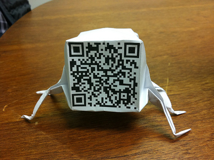 QR origami | Socialart | Scoop.it