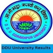 DDU Gorakhpur University Results 2018, Gorakhpu