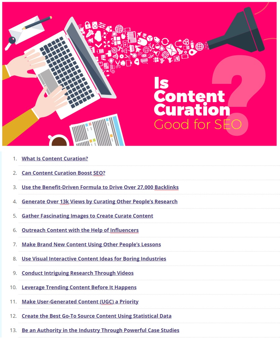 Content curation in the martech digest scoop is content curation good for seo 11 examples that prove so cognitive seo malvernweather Image collections