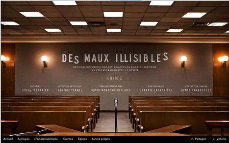 Analphabétisme | Le Devoir | Interactive & Immersive Journalism | Scoop.it