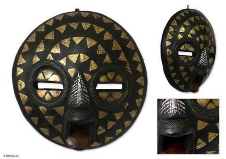 African Masks from NOVICA - Art with a mission - SocioLingo Africa   African Cultural News   Scoop.it