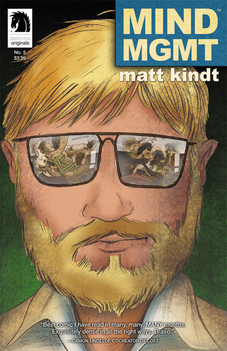 Review | Mind MGMT #1-6 by Matt Kindt|Comic Book Daily | LaeLand | Scoop.it