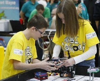 Legos and robots team up to hone math, science skills - Fort Wayne Journal Gazette | Heron | Scoop.it
