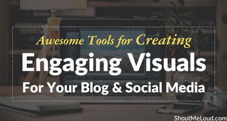 Twenty tools for creating visuals for your blog and social media | Education Technology - theory & practice | Scoop.it