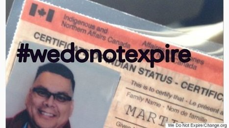 Indian Status Cards Shouldn't Expire: Petition | Canada and its politics | Scoop.it