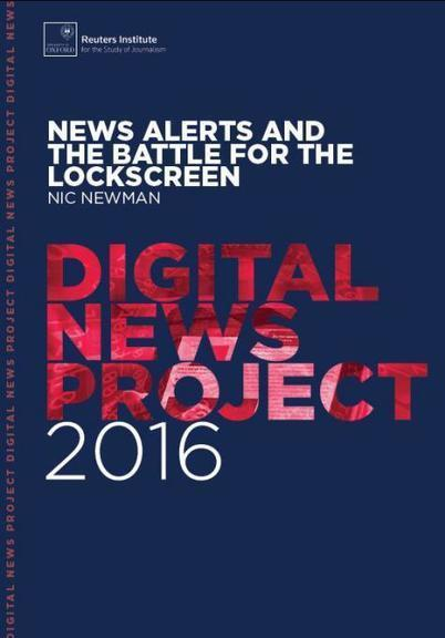 News Alerts and the Battle for the Lockscreen | Multimedia Journalism | Scoop.it