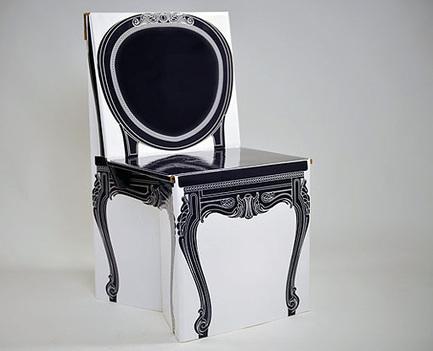 Silla victoriana en cartón reciclado | Decoratrix | Decoración, diseño ... | Diseño Web en Colombia, 3D SEO y Social Media | Scoop.it