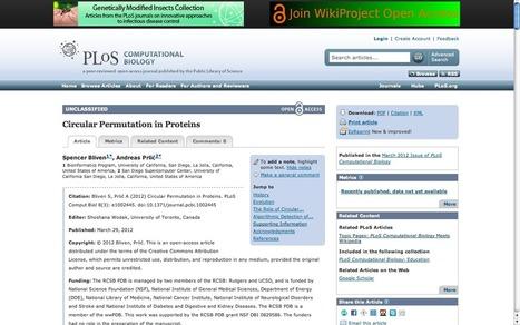 PLoS Computational Biology goes wiki | Publishing | Scoop.it