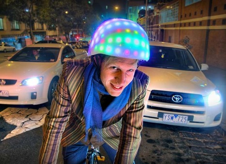 A bright idea to help bike riders be seen and not harmed   Active Commuting   Scoop.it