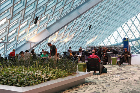 sweetfineday » Blog Archive » Rem Koolhaas Seattle Public Library | archi urbain | Scoop.it