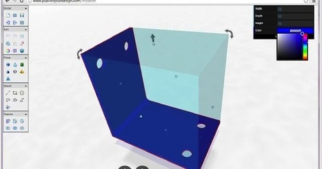 Useful Tools Students Can Use to Create 3D Models (Work on Chromebooks too) ~ Educational Technology and Mobile Learning | Sheila's Edtech | Scoop.it