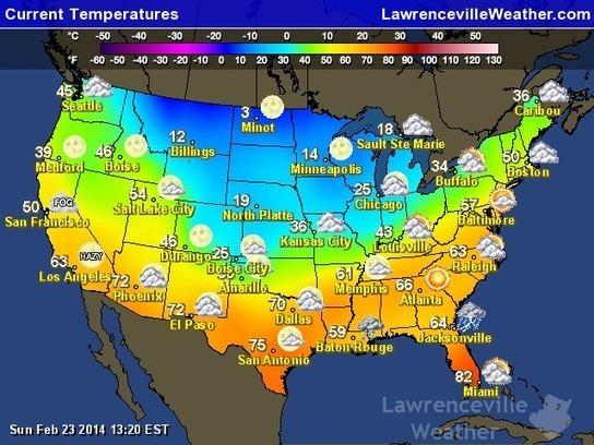 Current Weather temperatures | Special Purpose ...