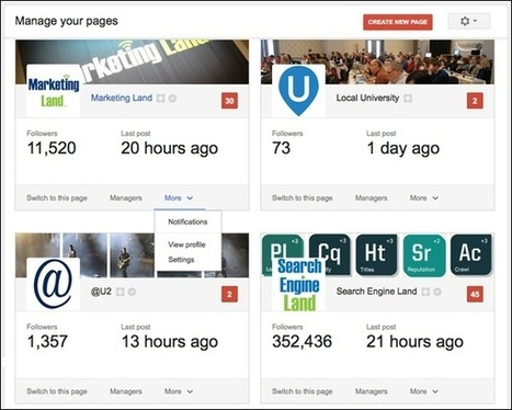 Google+ Rolls Out A New Page Manager Dashboard | Social Media Useful Info | Scoop.it