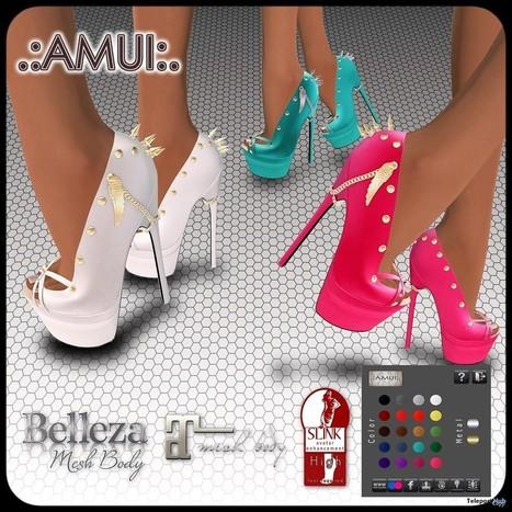 AMUI,Divine scarpe Hub Fatpack,fab free,featurosso,femal' in Teleport Hub scarpe   6fd962