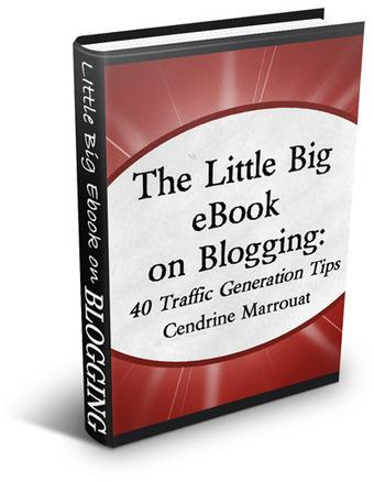 The Little Big eBook on Blogging: 40 Traffic Generation Tips by Cendrine Marrouat   Qnex technolgies   Scoop.it