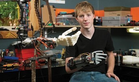 Teen Launches GoFundMe Campaign to 3D Print Prosthetic Arms You Can Control with Your Brain | STEM and education | Scoop.it