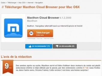 maxthon 3 clubic
