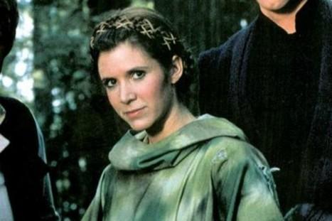 Quand Carrie Fisher écrivait une lettre à la princesse Leia - Les Inrocks | Actu Cinéma | Scoop.it