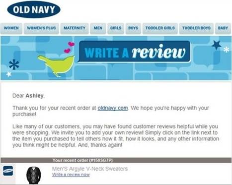 7 Tips for Killer Online Customer Reviews | Online Marketing Resources | Scoop.it