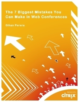 The 7 Biggest Mistakes You Can Make in Web Conferences | Cocreative Management Snips | Scoop.it
