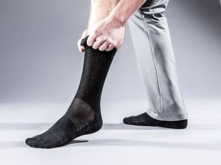 "Ministry of Supply's ""Atlas"" Socks Use Coffee-Infused Fibers to Neutralize Smells 
