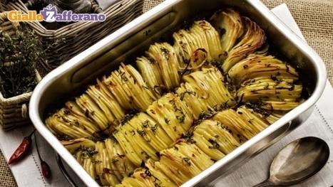 ricetta teglia di patate arrosto le ricette di giallozafferanoit ricette di cucina