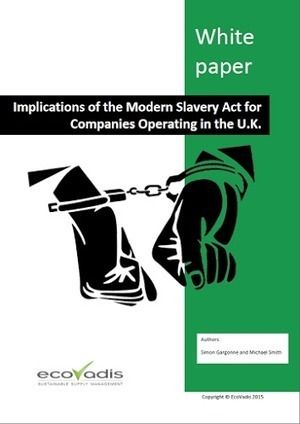 The U.K. Modern Slavery Act - Implications and Impacts | Sustainable Procurement News | Scoop.it