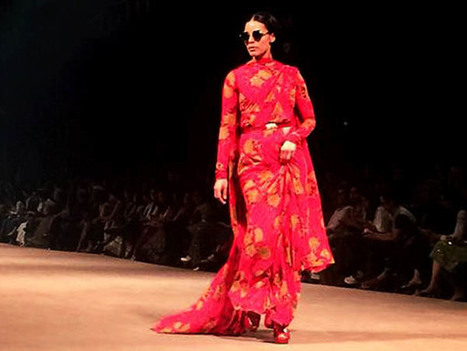 LFW 2015: Sabyasachi Opens The Show With Glitter Bombs! | CHICS & FASHION | Scoop.it