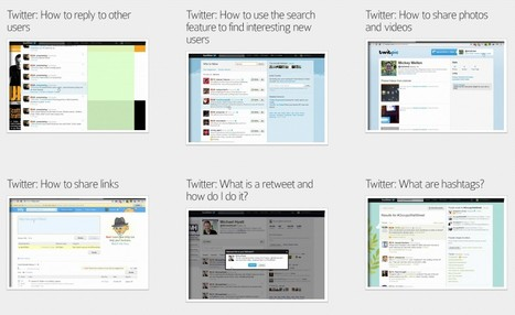 Twitter Tutorials - A Brighter Web | Education Technology - theory & practice | Scoop.it