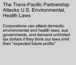 The TPP Attacks U.S. Environmental, Health Laws   AUSTERITY & OPPRESSION SUPPORTERS  VS THE PROGRESSION Of The REST OF US   Scoop.it