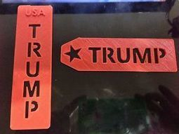Donald Trump Bookmark - Made in USA - 3D printer - #MAGA  (set of 2 pis) | eBay | 3D Printing and Fabbing | Scoop.it
