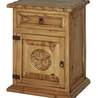 Rope Nightstand with Texas Star
