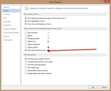 The first nine things I do to default settings in Word 2013 | TechRepublic | EEDSP | Scoop.it