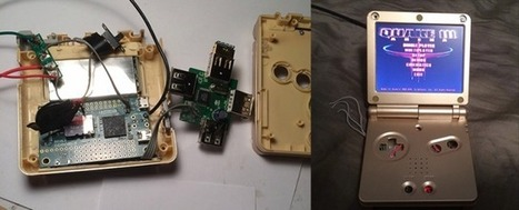 A Raspberry Pi in a Game Boy Advance SP | [OH]-NEWS | Scoop.it