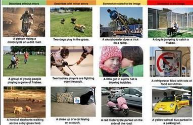 Un logiciel Google capable de décrire une image en langage naturel | L3s5 infodoc | Scoop.it
