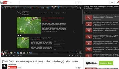 Curso gratuito para aprender a crear temas WordPress | Organización y Futuro | Scoop.it