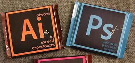 Elle postule sur des carrés de chocolats Adobe - Mode(s) d'emploi | La Boîte à Idées d'A3CV | Scoop.it